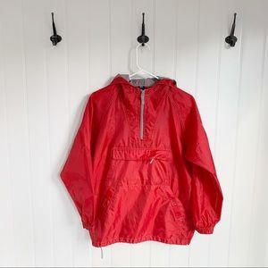GAP Kids Red Raincoat Size Large (10)